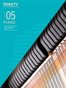 Trinity Piano Exam Pieces & Exercises 2021-2023 Grade 5 Book Only TCL020284
