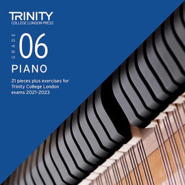 Trinity Piano Exam Pieces & Exercises 2021-2023 Grade 6 CD Only TCL021090