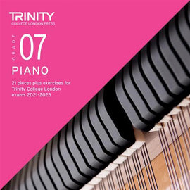 Trinity Piano Exam Pieces & Exercises 2021-2023 Grade 7 CD Only TCL021106
