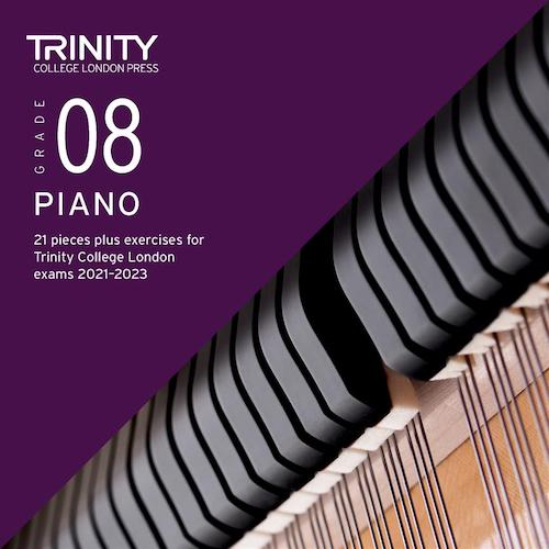 Trinity Piano Exam Pieces & Exercises 2021-2023 Grade 8 CD Only TCL021113