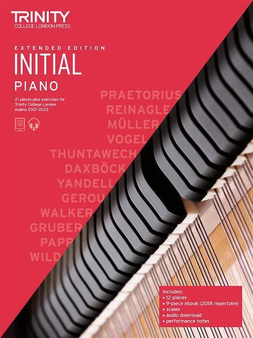 Trinity Pack 2 Initial - Grade 8 Piano 2021-23 - Extended Editions