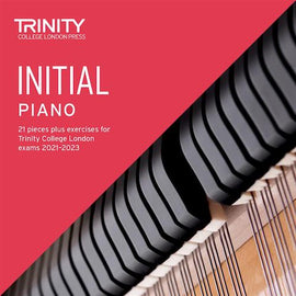 Trinity Piano Exam Pieces & Exercises 2021-2023 Initial Grade CD Only TCL021038