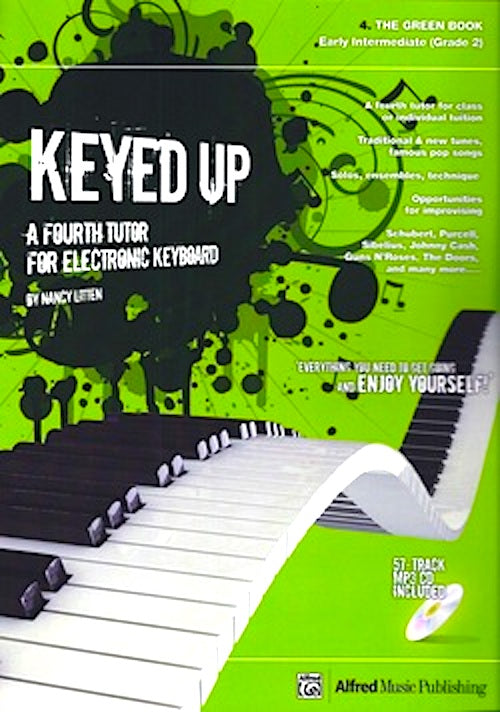 Keyed UP Green Book Tutor For Electronic Keyboard Trinity Grade 2 Nancy Litten