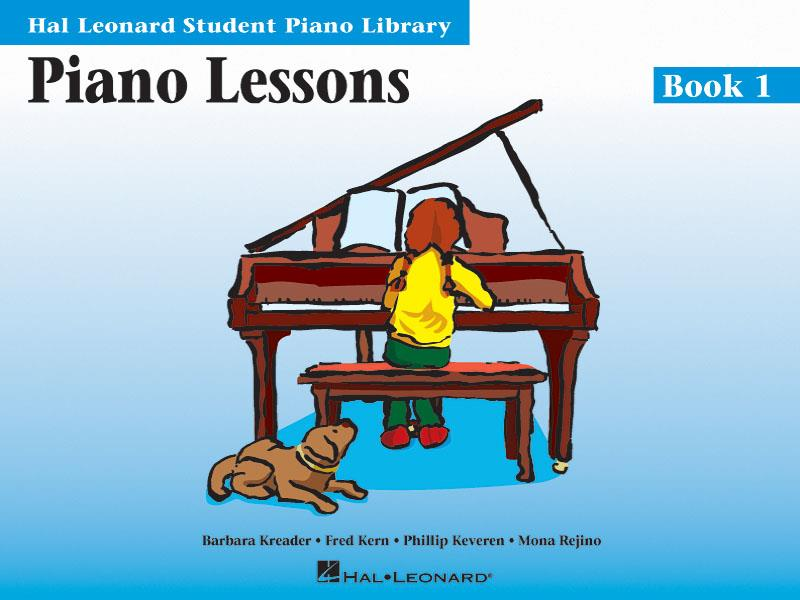 Piano Lessons Book One Hal Leonard Student Piano Library Book Only