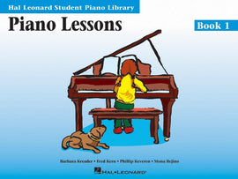 Piano Lessons Book One Hal Leonard Student Piano Library Book Only HL00298001