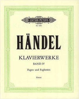 Handel, Keyboard Works, Volume 4, 9790014035150