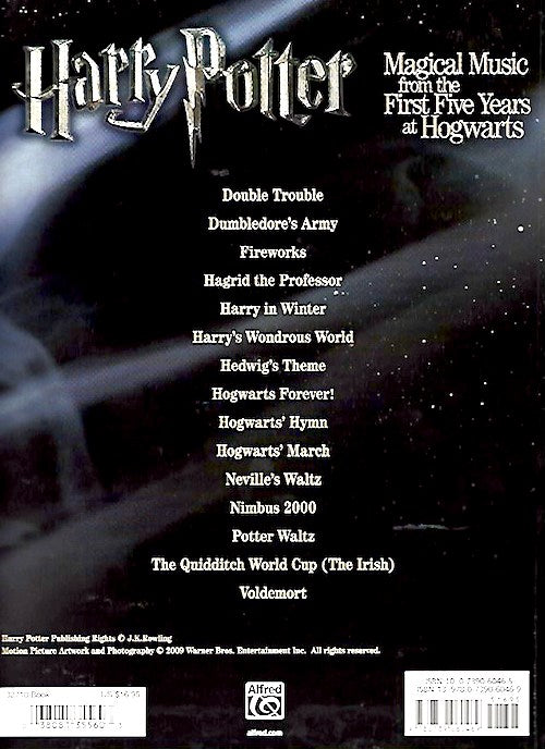 Harry Potter Magical Music from the First Five Years at Hogwarts Piano 5 Finger 9780739060469