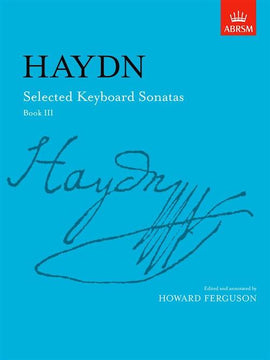 Haydn Selected Keyboard Sonatas Book 3 Moderato 1st movt Sonata in E Grade 7