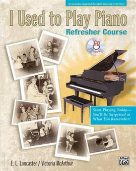 I Used To Play Piano Alfred Music Book With CD 22166