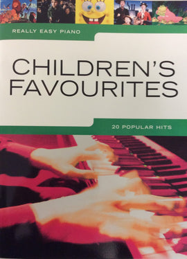 Really Easy Piano Children's Favourites 20 Popular Hits