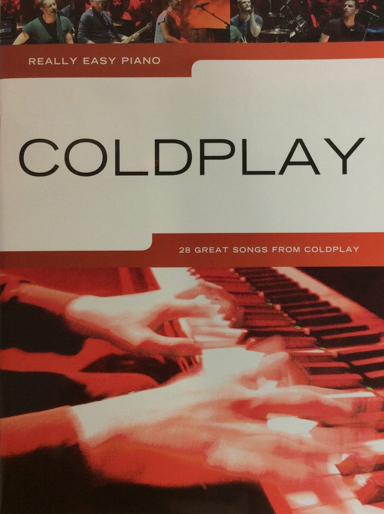 Really Easy Piano Coldplay 28 Great Songbook 9781783057306