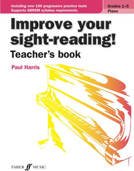 Improve Your Sight-Reading! Teacher's Book Paul Harris 9780571539536