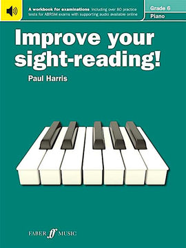 Improve Your Sight Reading Paul Harris Grade 6 Piano Sight-Reading Book