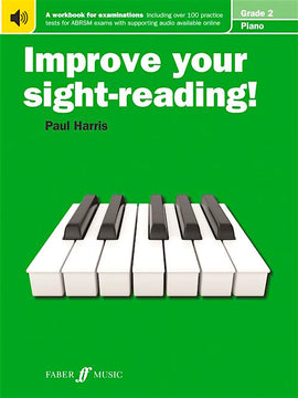 Improve Your Sight-Reading Paul Harris Grade 2 Piano Tutor Book