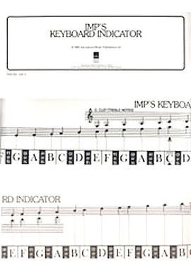 Imps Keyboard Indicator Piano Notes Read Music Easy Note recognition