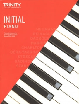 Trinity Piano 2018-2020 Initial Book Only Pieces & Exercises TCL016584