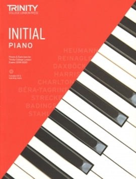 Trinity Piano 2018-2020 Initial Book + CD, Pieces & Exercises TCL016676