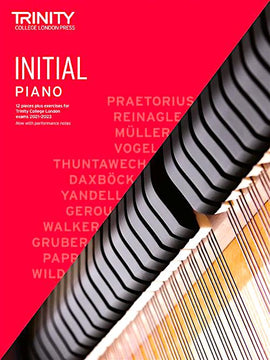 Trinity Piano Exam Pieces & Exercises 2021-2023 Initial Grade Book Only TCL020239