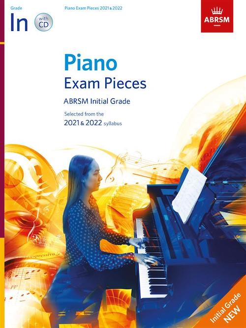 ABRSM Initial Piano 2021-2022 Selected Exam Pieces Book + CD