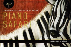 Piano Safari Interval Cards Katherine Fisher Julie Knerr 1470612488
