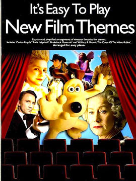 It's Easy To Play New Film Themes Piano Book
