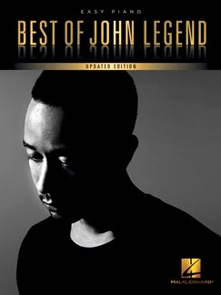 Best Of John Legend 14 Famous Hits Easy Piano 9781495090332