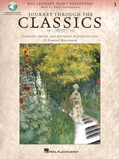 Journey Through the Classics 3 Early Intermediate, Hal Leonard, Audio Access Included, 9781495013157