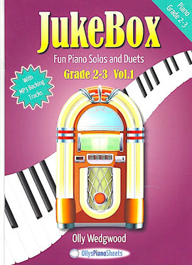 JukeBox  Grade 2-3 Volume 1 Olly Wedgwood With Audio Download JB231