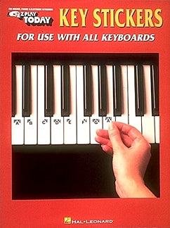 Key Stickers For Use With All Keyboards 9780793545957