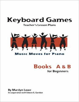 Music Moves for Piano Keyboard Games Book Teachers Edition G-7216T
