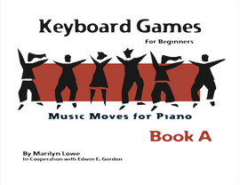 Music Moves for Piano Keyboard Games Book A  G-7216