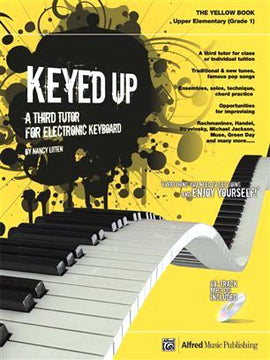 Keyed UP Yellow Book A Third Tutor For Electronic Keyboard Nancy Litten