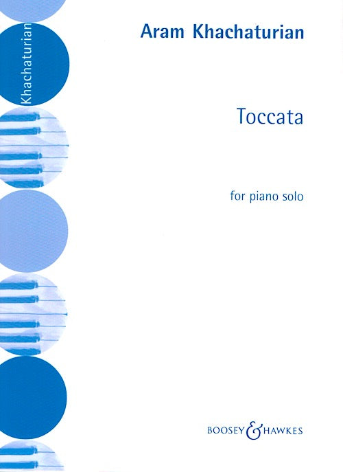 Khachaturian Toccata Piano Boosey and Hawkes Ad346