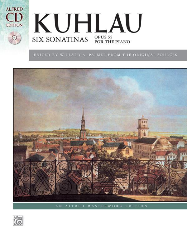 Kuhlau Six Sonatinas Book + CD Opus 55 For the Piano Alfred 41423