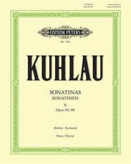 Kuhlau Sonatinas Volume 2 Grade 6-8 EP715b ANRSM Alternative Piece 2019 - 20