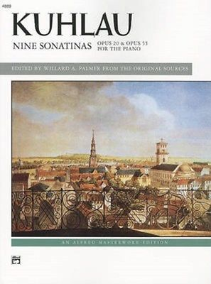 Kuhlau Nine Sonatinas Opus 20 & Opus 55 For the Piano 4889