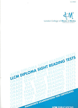 LCM (London College of Music & Media) Piano LLCM Diploma Sight Reading 5025966217939
