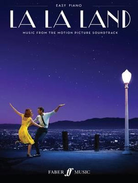 La La Land, Motion Picture Soundtrack, including lyrics, Easy Piano, Faber Music, 9780571539833