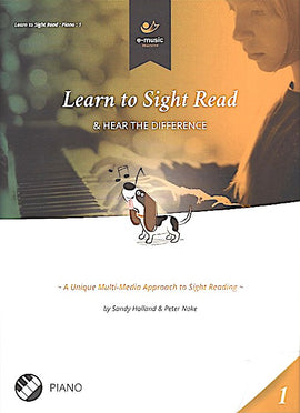 Learn To Sight Read Book 1 Sandy Holland Peter Noke e-music maestro 9781999863500