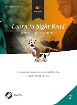 Learn To Sight Read Book 2 Sandy Holland Peter Noke e-music maestro 1999863534