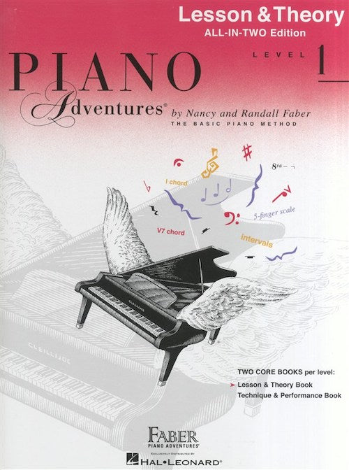 Piano Adventures Lesson and Theory Book Level 1  HL00119901