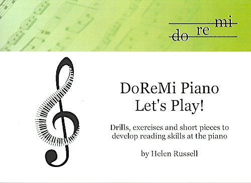 Lets Play DoReMi Piano Helen Russell Let's Play Sight Reading DRM09