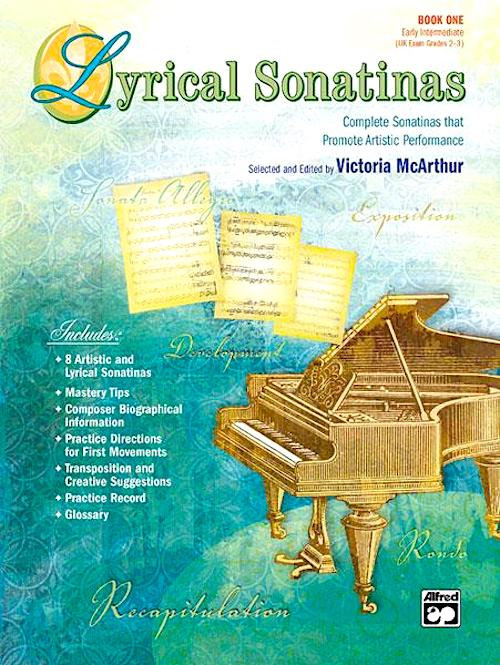 Lyrical Sonatinas Book 1 Piano Solo Victoria McArthur 22500