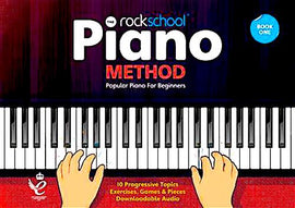 Rockschool Piano Method Book 1 with Audio Online RSK200119