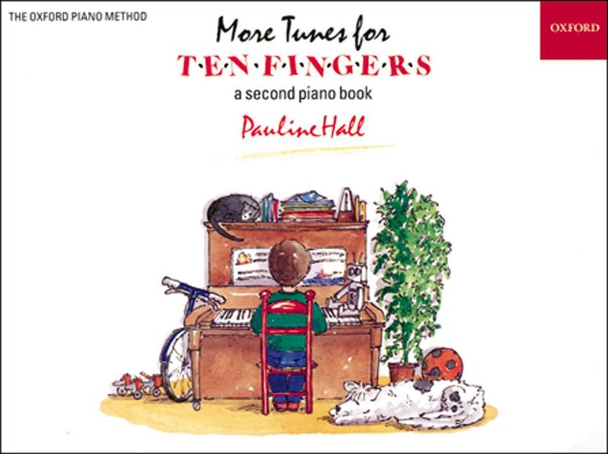 More Tunes for Ten Fingers, second book, Pauline Hall, Oxford, 9780193727397
