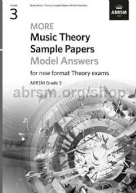 More Music Theory Sample Papers - Answers - Grade 3 ABRSM New Format Exams