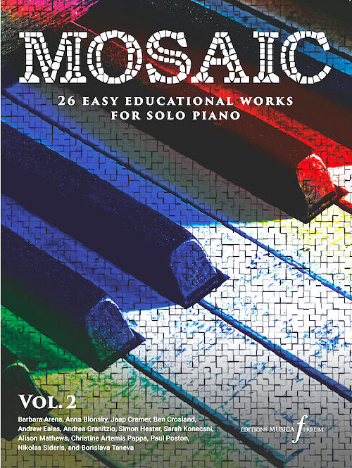 Mosaic Volume 2 - 26 easy educational works for solo piano