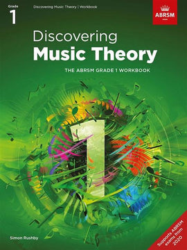 ABRSM Music Theory New Format Pack 1 - Discovering Music Theory Grades 1 - 5