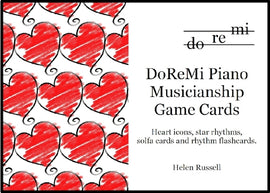 Musicianship Game Cards DoReMi Piano Helen Russell DRM06