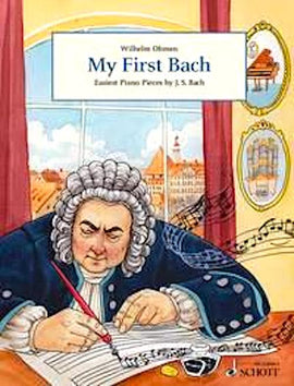 My First Bach Schott Choral 'Deal with Me, Lord' BWV 514 ABRSM Grade 1